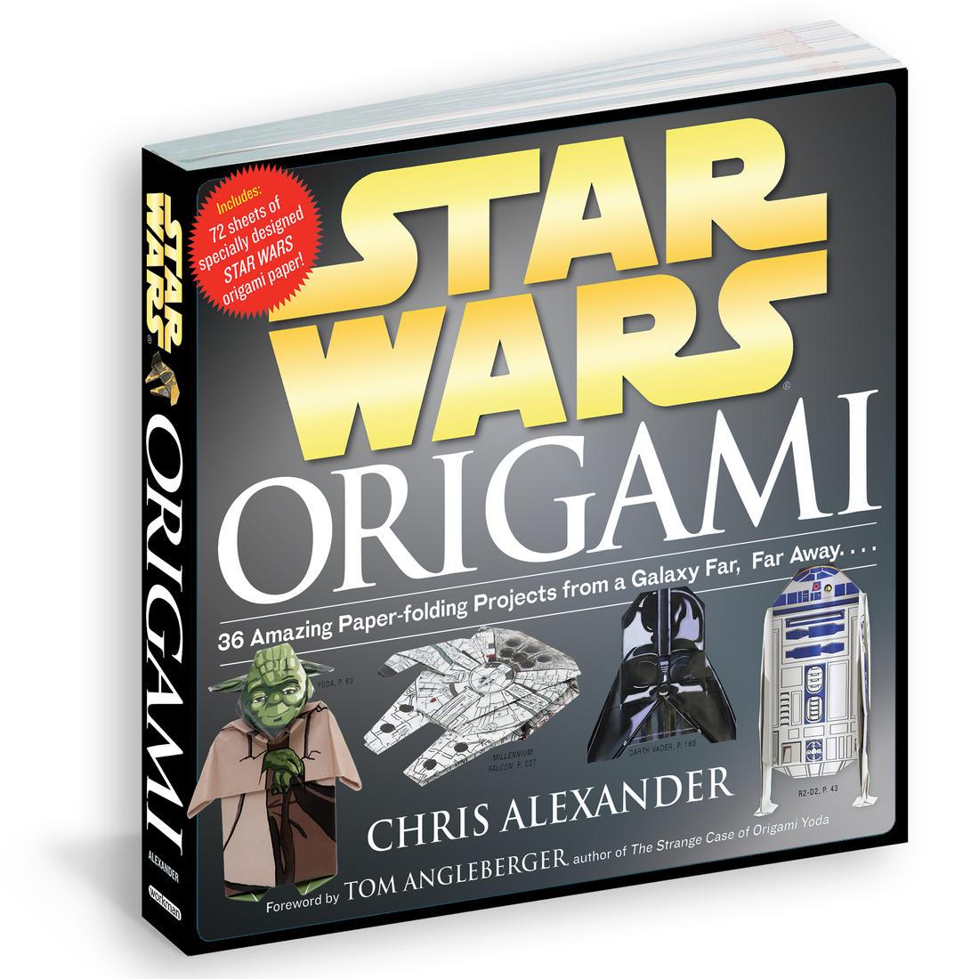 Star Wars origami hæfte - Bøger - Gadgethuset.dk - photo#36