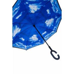 fed0e621f Paraply med 64 LED lys og lommelygte
