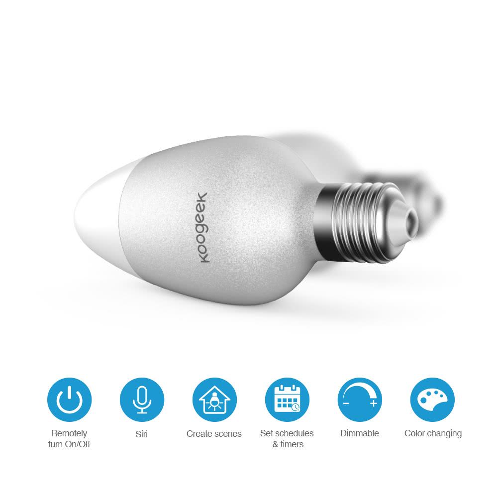 Fantastisk Koogeek Smart LED WIFI pære - Intelligente pærer og kontakter MD94