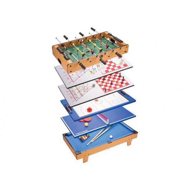 8 i 1 multi spillebord 82 cm. Black Bedroom Furniture Sets. Home Design Ideas