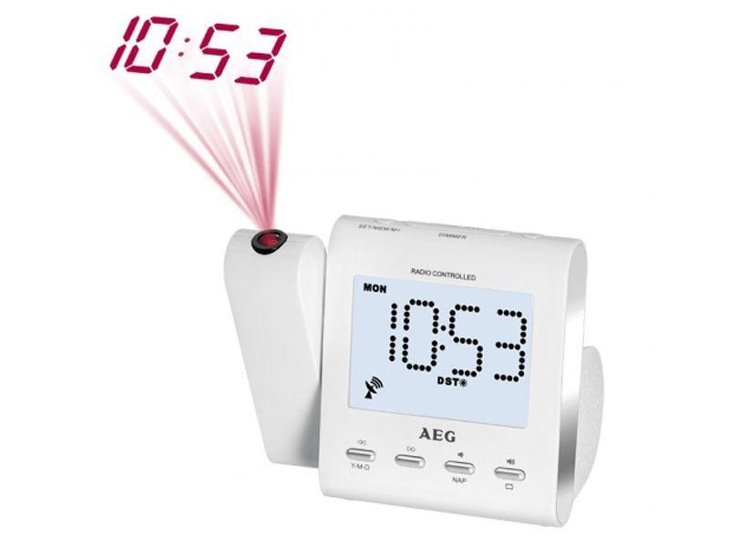 92d6d83eaf7 Clockradio med ur og projektor. Køb projektor vækkeur nu