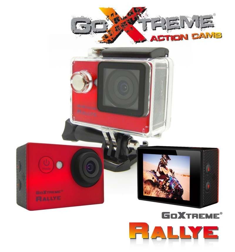 EasyPix GoXtreme Rallye HD Action Camera, Rød