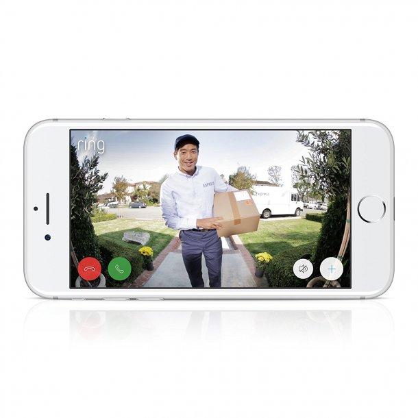 Smartphone dørklokke med Full-HD kamera, version 2