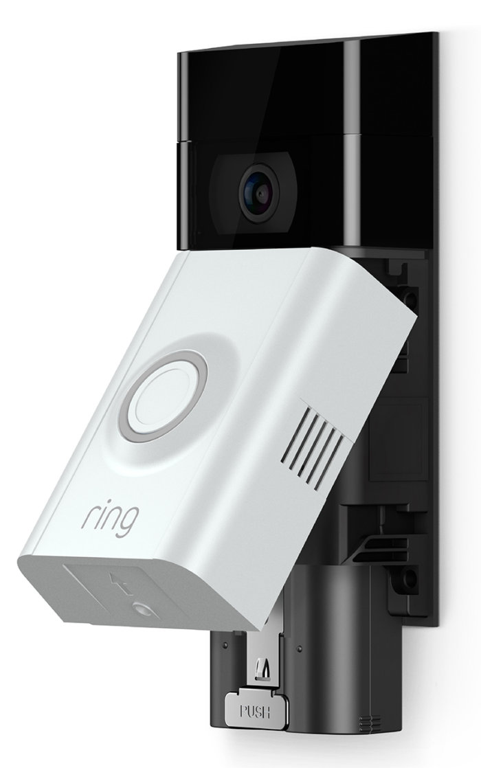 Fantastisk Smartphone dørklokke med Full-HD kamera, version 2 - Dørklokke HW22